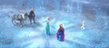 Elsa begins the thaw.png