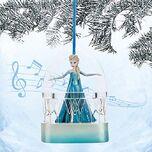 Elsa singing sketchbook ornament frozen