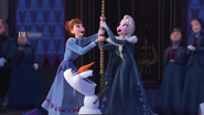 Anna , Olaf , Elsa