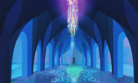 Elsa's ice palace concept art