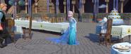 Kristoff , Elsa , Olaf