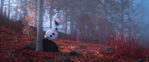 Olaf in the Enchanted Forest