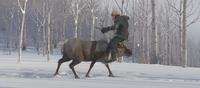 Sven carrying Kristoff