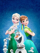 Frozen Fever Textless Poster (1)