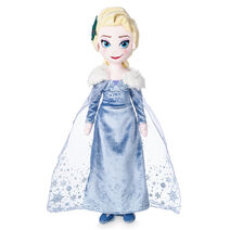 Elsa Plush Doll - Olaf's Frozen Adventure - Medium - 19