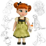 Disney Animators' Collection Anna Doll