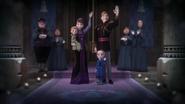 Iduna i Agnarr z córkami