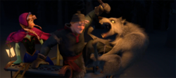 Wolves attack Kristoff