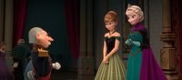 Elsa, Anna, and the Duke