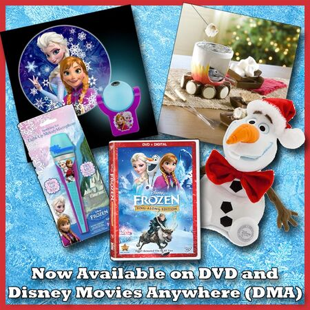Disney Frozen Sing-along Prize Pack Giveaway 001