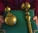 Orb and scepter