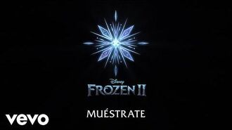 """Carmen Sarahí, Leslie Gil - Muéstrate (De """"Frozen 2"""" Lyric Video)"""