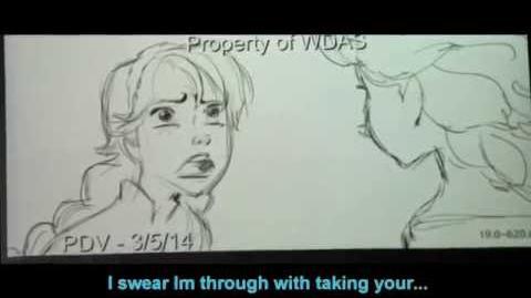 HD Life's Too Short (Frozen Outtake) Idina Menzel & Kristen Bell - Video & Lyrics