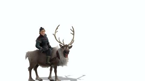 Disney's Frozen Kristoff y Sven