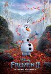 Olaf y Bruni Frozen II Poster Internacional