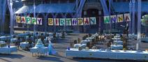 Birthday preparations