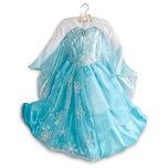 Disney Store Frozen Deluxe Elsa Costume Dress