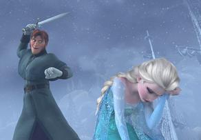 Hans ataca Elsa