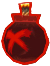 Red Bomb Image