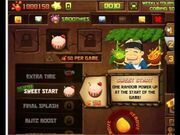 Fruit Ninja Frenzy Dojo