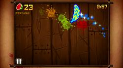 Fruit Ninja Arcade Mode