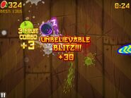 Fruit ninja unbelievable blitz