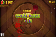 Fruit ninja great blitz