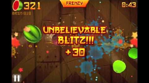 OVER 1000!!! - HIGH SCORE - Fruit Ninja ARCADE Mode - NO SLOW MOTION NO HACKS - HD 1080p