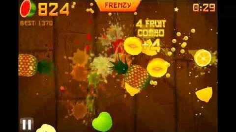 1533!!! Legit Fruit Ninja High Score Arcade Mode