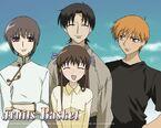 Yuki, Tohru, Kyo & Shigure