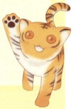 Kisa as a Tiger