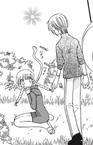Tohru, Ayame (Snake form) and Yuki