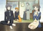 Tohru, Yuki, Kyo & Shigure