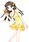 Tohru holding Rat & Cat Ice Cream