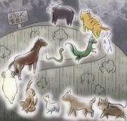 38181 cit fruits basket - twelve animals - isnt it sad kyo-1-
