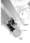 Kyo stroking Tohru's head