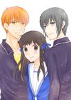 Kyo, Tohru & Yuki Manga Official Art