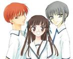 Kyo, Tohru & Yuki