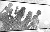 Silhouette of Kyo, Tohru, Machi and Yuki