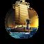 Icon Turtle Ship