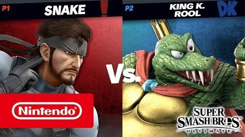 Super Smash Bros. Ultimate – Gameplay de King K
