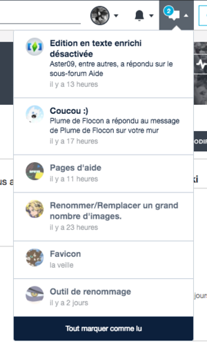 FR Message wall notifications 1