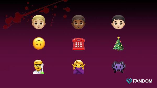Horror series emoji Quiz 3