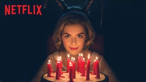 Les nouvelles aventures de Sabrina Teaser Joyeux anniversaire Netflix