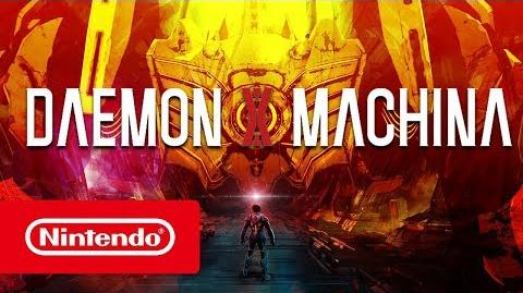 DAEMON X MACHINA - Vidéo de la gamescom 2018 (Nintendo Switch)