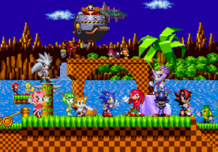 Green hill zone by hero t-d5x0fm1