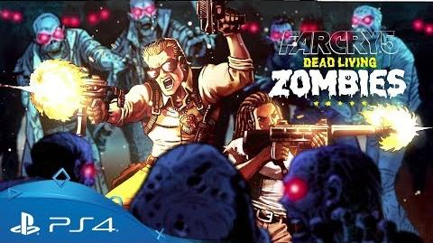 Far Cry 5 Dead Living Zombies Teaser Trailer PS4