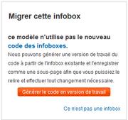 Migrer infobox