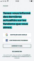 FR FANDOM app login