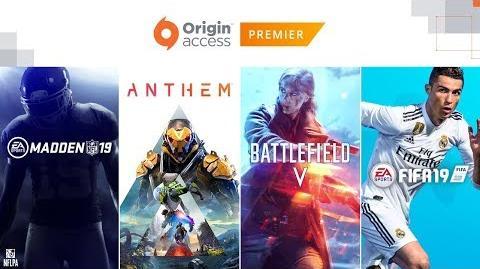 Origin Access Premier Official Reveal Trailer EA Play 2018